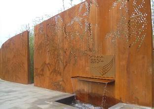 景观锈蚀钢板